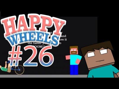 Happy Wheels z Disem #26 - Herobrine & morderstwo!