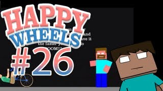 Happy Wheels z Disem #26 - Herobrine & morderstwo!