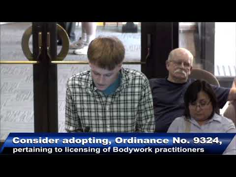 Chris Flowers Advocates for Legal Genital Massages