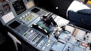 Tame Linea Aerea del Ecuador New Airbus A319 HC-CMO cockpit review (HD)