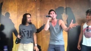 HAMILTON Ham4Ham 7/29/2015 with Jon Rua & Ariana DeBose