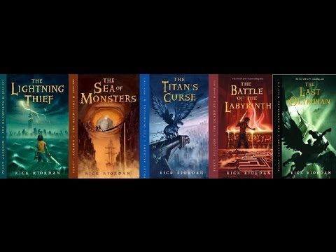 December Book Review (Percy Jackson Series)
