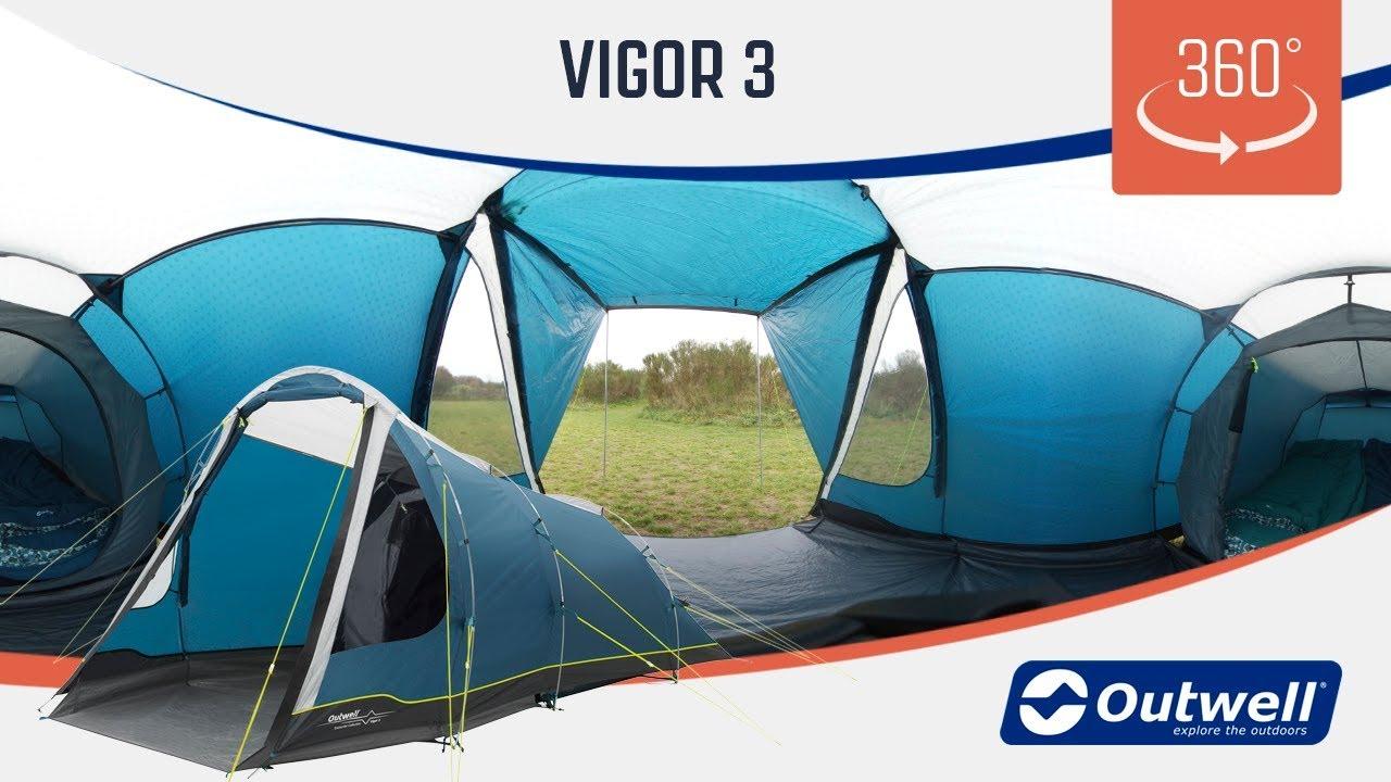 Outwell Roseville 4SA Zelt Blue 2020 Camping-Zelt