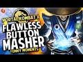 Mortal Kombat X Funny Moments - CHAOS vs KOSDFF!! FLAWLESS BUTTON MASHER! | Whos Chaos