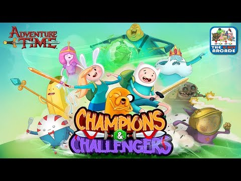 Adventure Time: Champions & Challengers - The Dice Lord Challenges You (Cartoon Network Games)