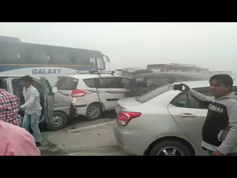 DELHI pollution effect | series of Accidents due to pollution.
