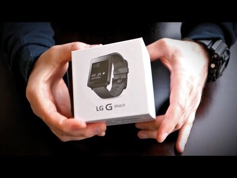 LG G Watch Unboxing!