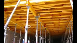 SZALUNKI STROPOWE - Montaż szalunków stropowych Ringer