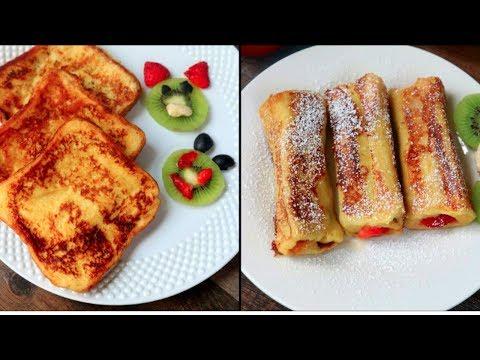 বাচ্চাদের টিফিন/ নাস্তায় দুইটি ভিন্ন স্বাদে ফ্রেঞ্চ টোষ্ট || French Toast Recipe Bangla