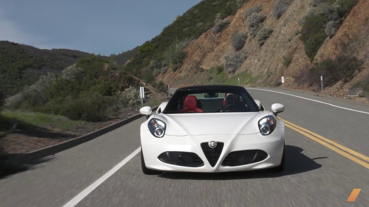 alfa romeo 4c spider -- test/drive - youtube