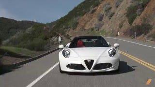 Alfa Romeo 4C Spider -- TEST/DRIVE