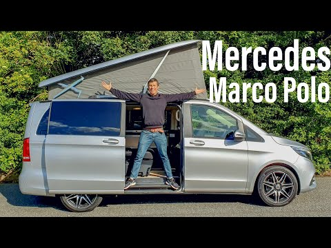 This £70K Mercedes Marco Polo is the ultimate luxury camper van! REVIEW
