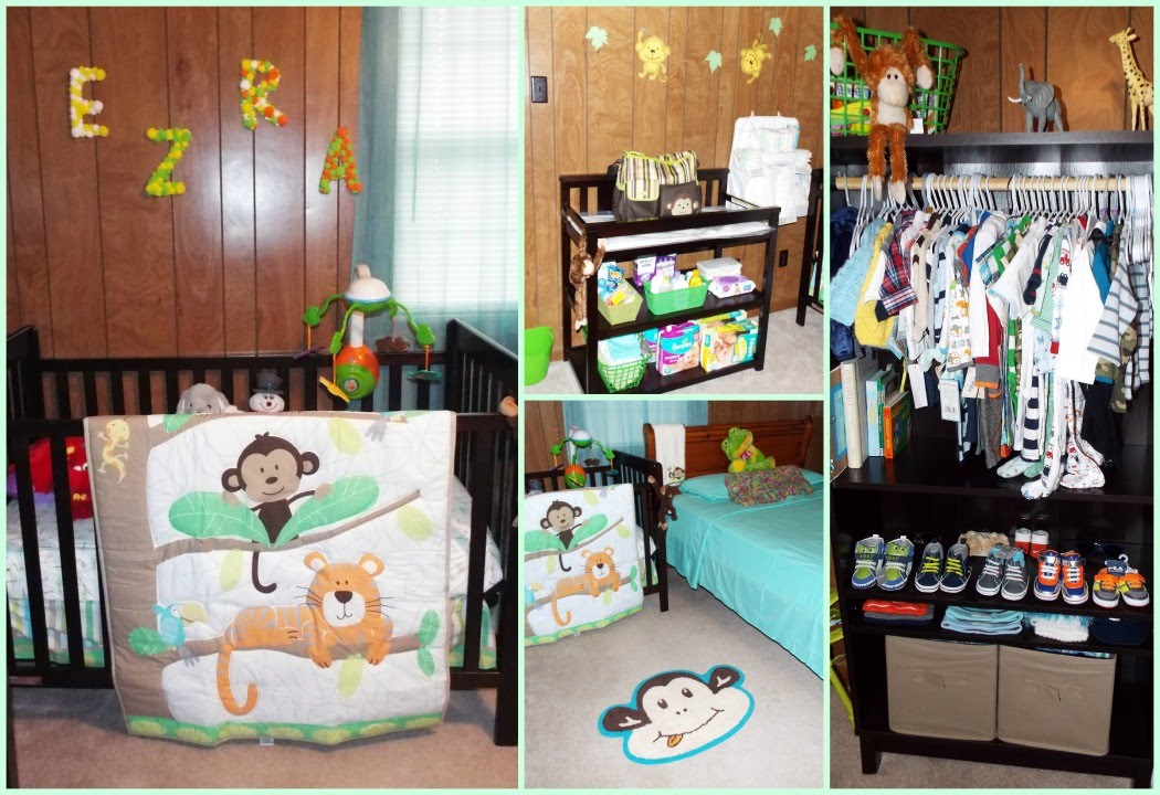 Tour por el cuarto de mi bebe boy 39 s nursery tour youtube for Habitacion completa bebe boy