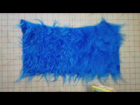 Reviving Matted Faux Fur Fabric