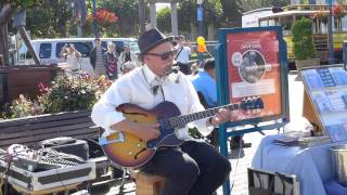 Dave Earl - Number Nine Train * Blues live at Pier 39 San Francisco