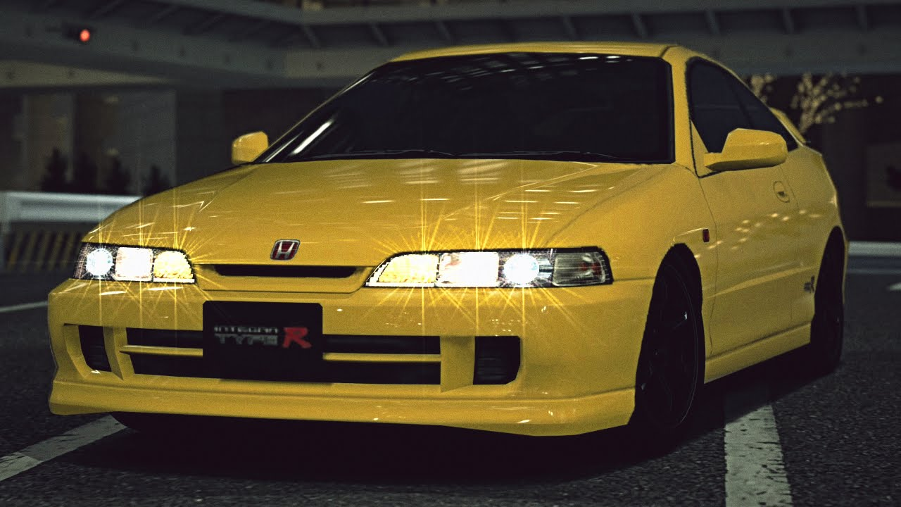 GT6 Honda INTEGRA TYPE R DC2 99