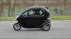BADER Kabinenroller Lizzy C45 comfort, 45 km/h, 60 km Reichweite, Elektromobil, Elektro Stadtflitzer