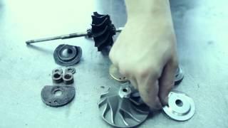 Ремонт турбины двигателя