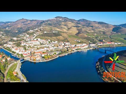 Pinhão - Port Wine region - Douro river - Alto Douro Vinhateiro - Alijó - 4K UltraHD