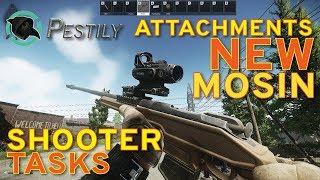The Tarkov Shooter   New Mosin Tasks And Attachments   Escape From Tarkov