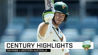 Tim Paine scores breakthrough ton 13 years in the making