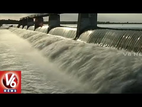 Telangana Govt Plans To Construct Check Dams On Munneru & Its Sub Rivers | Khammam | V6 News