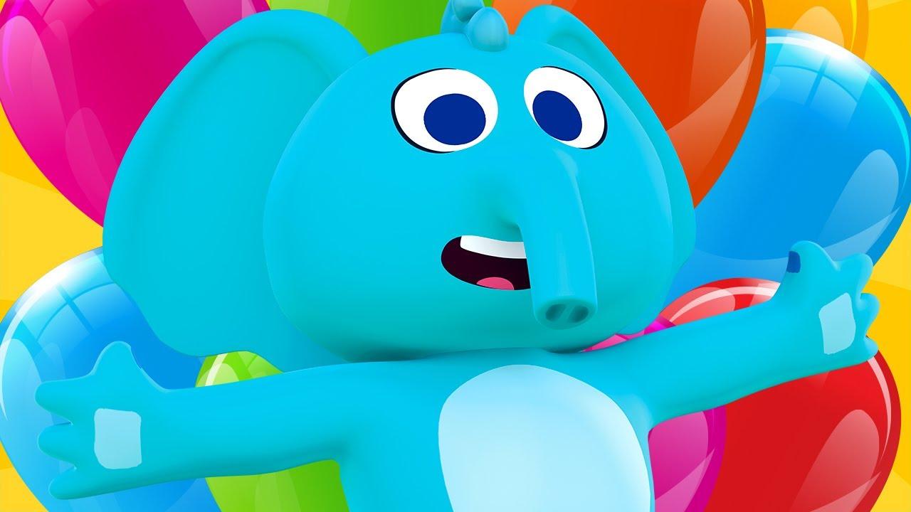 ¡A Jugar con Blas y los Globos de Colores! #4 | Canciones del Zoo