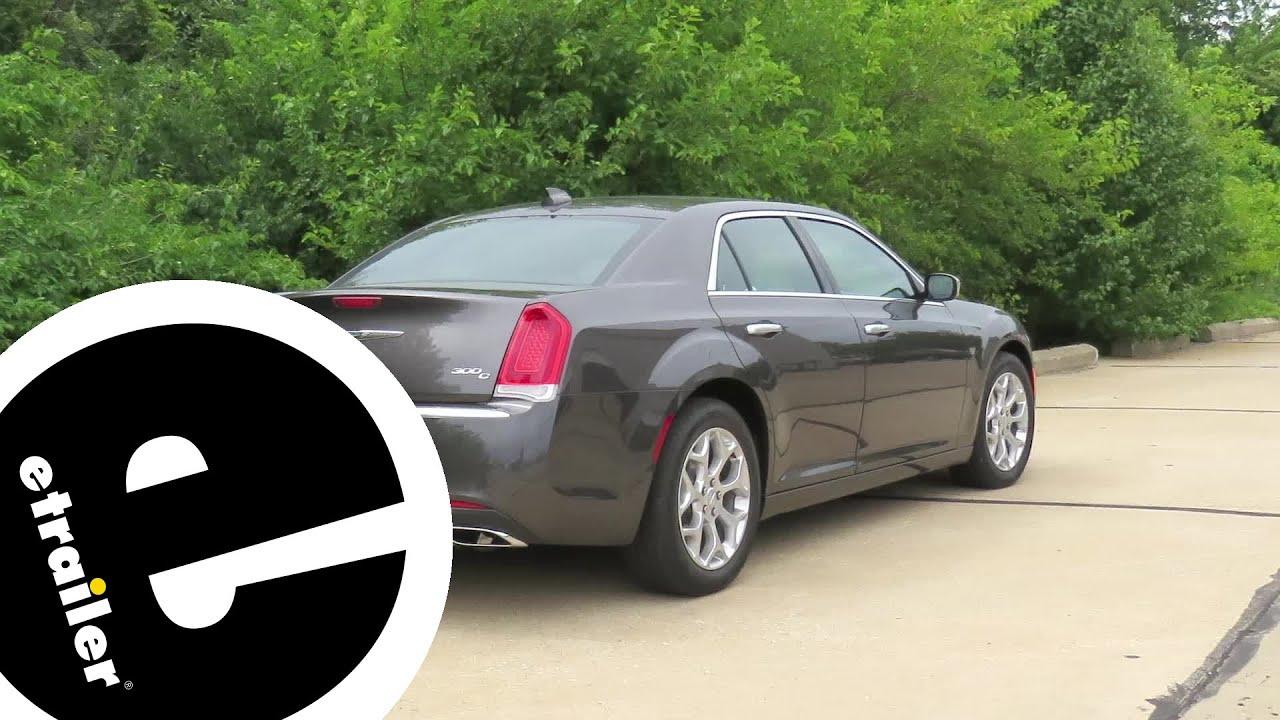 etrailer   Curt T-Connector Vehicle Wiring Harness Installation - 2017  Chrysler 300C - YouTube [ 720 x 1280 Pixel ]