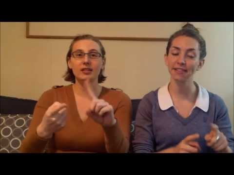 Hello and Goodbye Song Using Sign Language