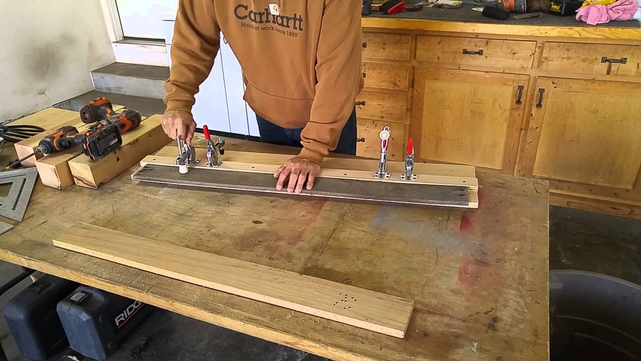Straight Edge Table Saw Jig Youtube