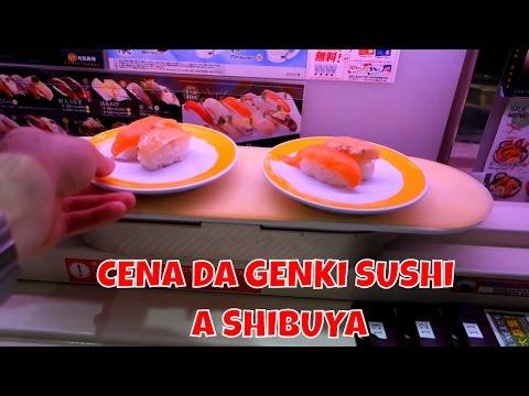 CENA DA GENKI SUSHI A SHIBUYA - Feat. ANDREA SECCO E PORCORONDO