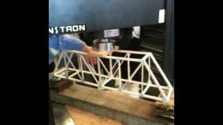 Balsa Wood Bridge Testing