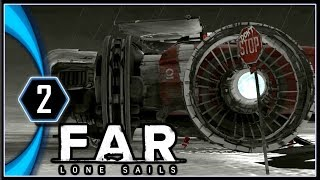 FAR: Lone Sails Gameplay PC - Fire in the Storm, Repairs Needed [Part 2]
