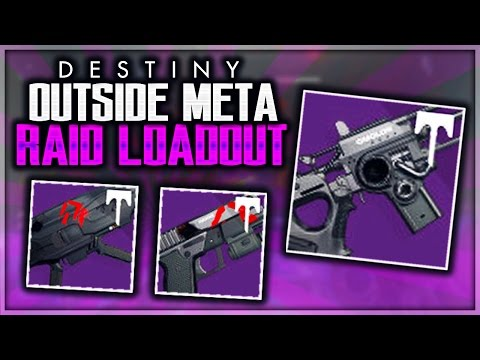 Destiny Outside The Meta! RAID WEAPONS Crucible GAMEPLAY (Live Crucible)