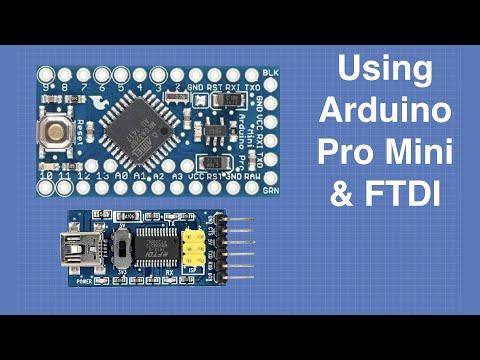 Using The Arduino Pro Mini & FTDI