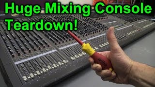 EEVblog #840 - Yamaha M3000 Mixing Console Teardown