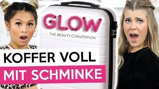 KOFFER VOLL mit BEAUTY PRODUKTEN von der GLOW Beauty-Convention💄| Coco