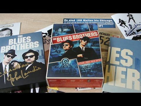 THE BLUES BROTHERS Extended Version Deluxe Edition Blu-Ray Turbine Digipack Belushi Aykroyd Landis Mp3