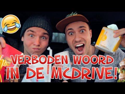 VERBODEN WOORD in de McDrive! Met Dylan Haegens   #Furbruari