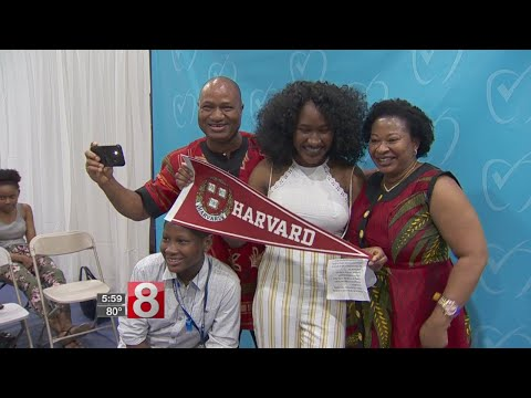 Amistad Academy senior chooses Harvard after being accepted to four Ivy schools