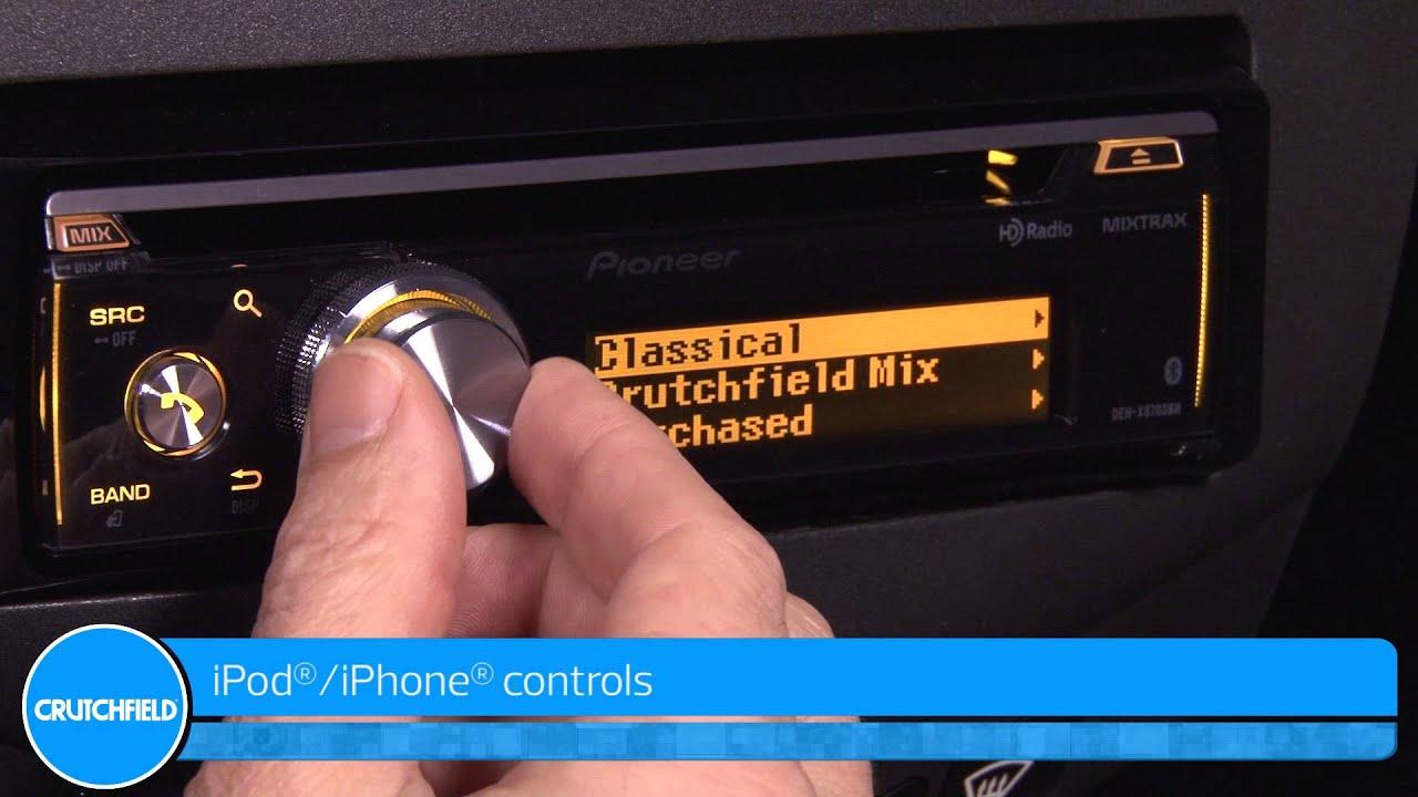 PIONEER DEH-X8700BT MixTrax und Bluetooth