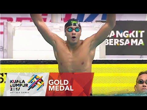 Swimming Men's 100m breaststroke Final   29th SEA Games 2017 thumbnail