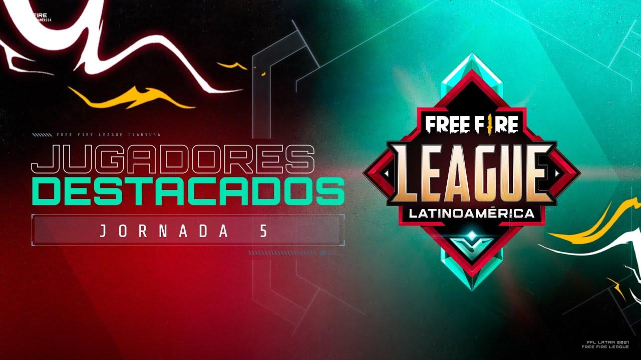 Jugadores MVP de la Jornada 5 - Free Fire League Clausura 2021 💥   Garena Free Fire