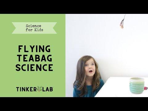 How To Make A Hot Air Balloon From A Tea Bag 15