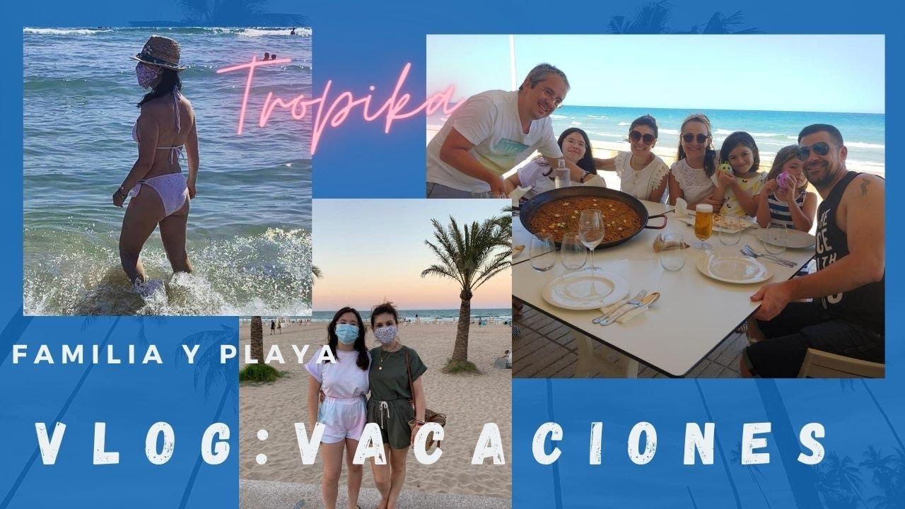 VLOG: En Gandia, familia y playa