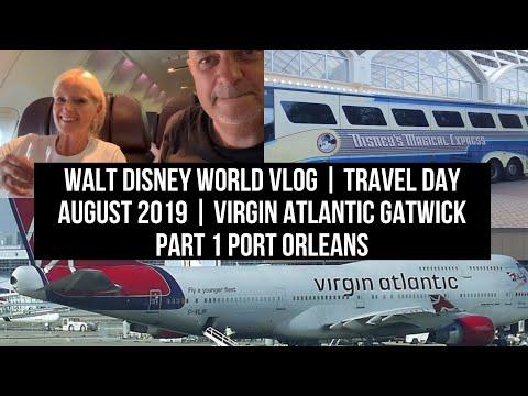 Walt Disney World Vlog | Travel Day August 2019 | Virgin Atlantic Gatwick