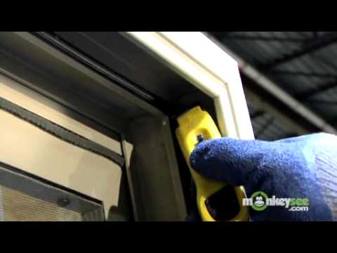 Replacing Weather Stripping In A Sliding Glass Door Youtube