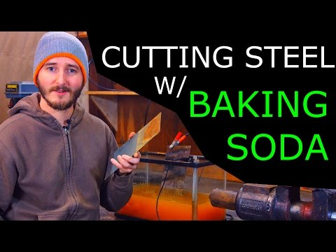 How To Cut Steel With Electrolysis [Experiment In Progress] - NightHawkInLight