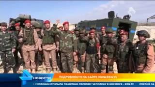 В Алеппо прошли совместные учения российской и сирийской военной полиции