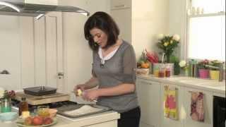 Tropicana Breakfast Recipe - Roasted Vanilla Peaches With Natural Yogurt And Coconut Granola